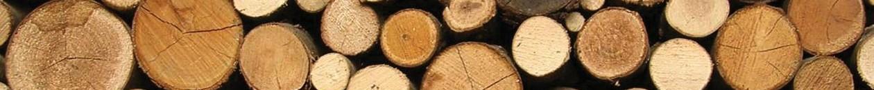 Thin wood footer